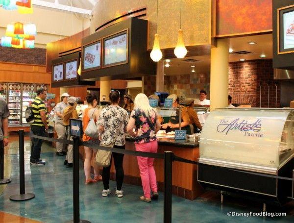 Disney-Saratoga-Springs-Resort-Artists-Palette-ordering-line-1-600x455.jpg (600×455)