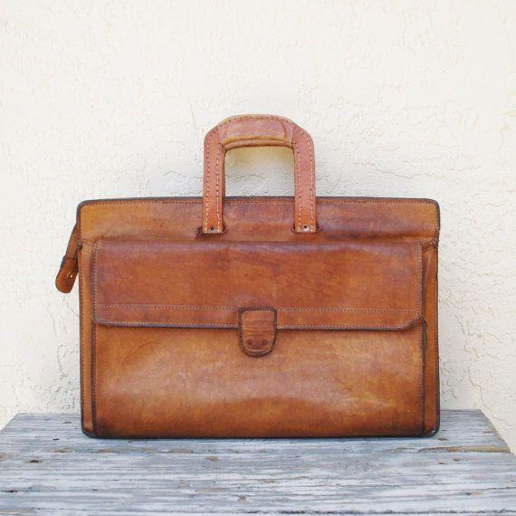 Vintage Hartmann Belting Leather Garment Bag Suitcase | eBay ...