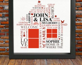 housewarming gift personalized housewarming gift first home