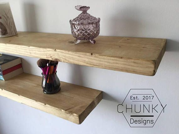 Rustic Shelves, Reclaimed Wood Floating Shelf, Rustic Home Decor ...