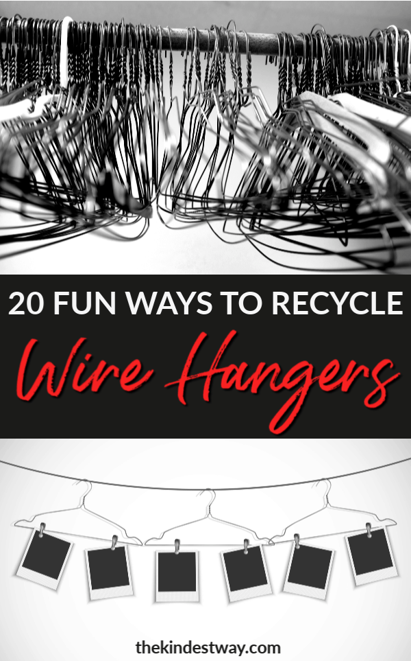 20 Ingenious Ways To Recycle Wire Hangers The Kindest Way Blog