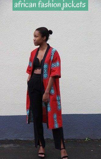 Buy African Print Jackets Ankara And Dashiki Coats