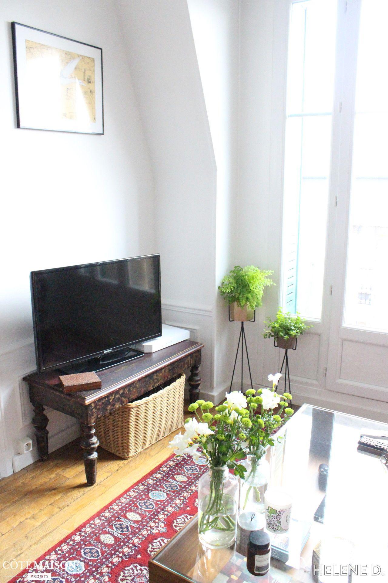 Notre salon de 13m2, Helene D. - Côté Maison | Je décore mon salon ...