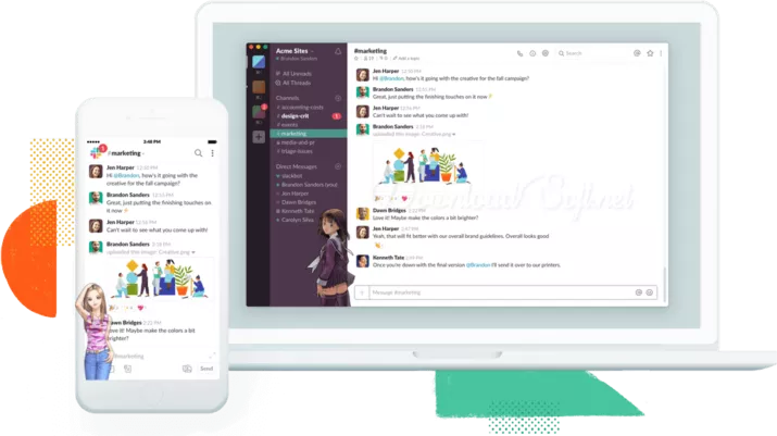 Download Slack Collect all Your Contacts in One Place 🥇 in