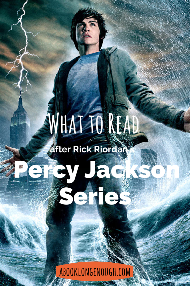 The Lightning Thief and its sequels, featuring Percy Jackson and the Olympians, are incredibly popular with readers 9 to 12 years old. Here's what to read while they're waiting for the next installment! http://abooklongenough.com.