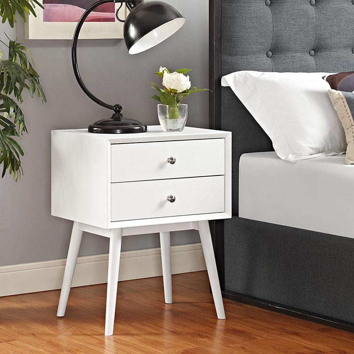 Debra Retro Nightstand In 2020 Furniture Table Lamps For