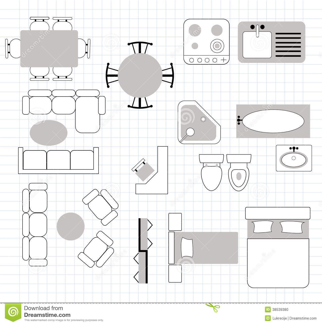 floor plan with furniture stock photo image 38539380 - 28 images - 28 furniture  floor plan stock vector floor plan, floor plan with furniture stock photo  ...