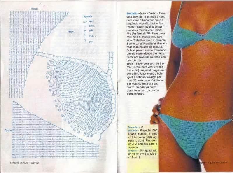 Suits Bikinisbañadores A CrochetSwim Patrones De Mujer ED2HW9IY