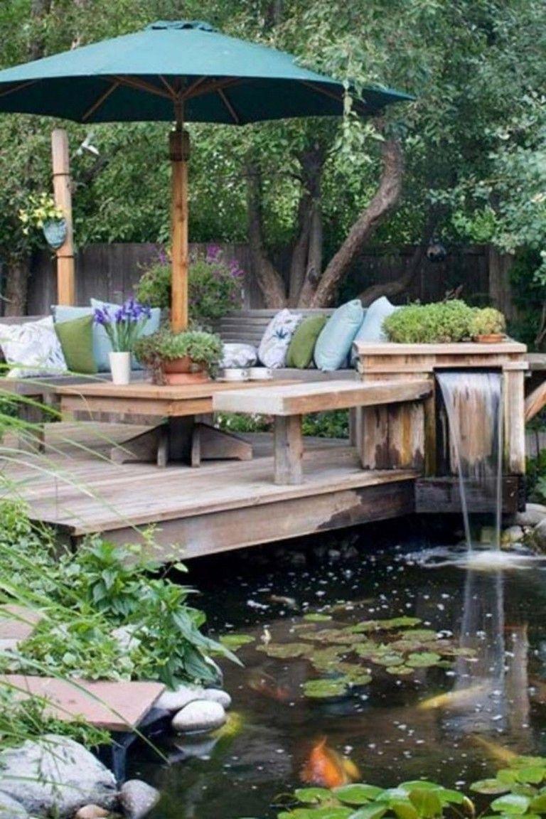 44 Pretty Backyard Seating Area Design Ideas | Backyard ...