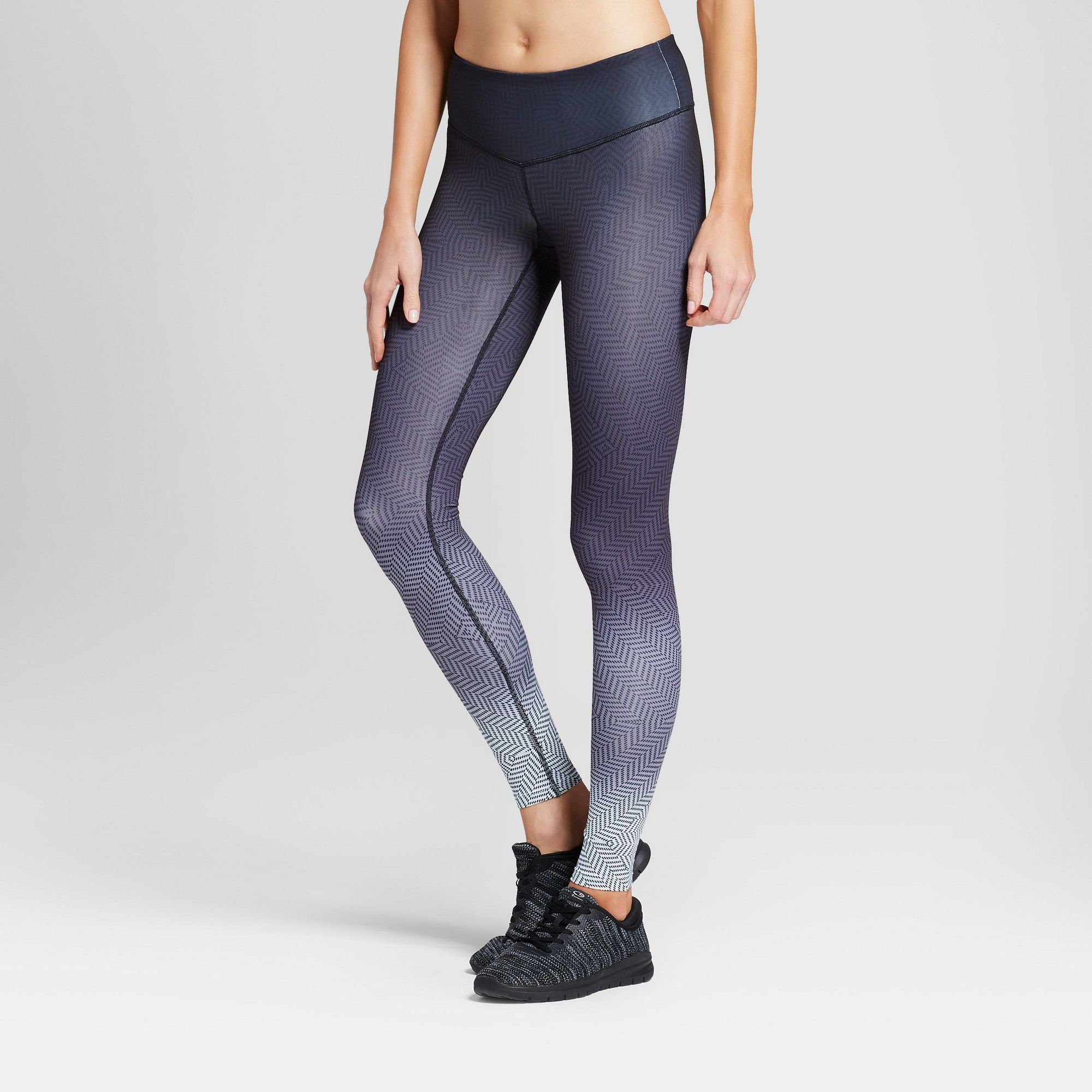 b5dc1c9e9dde Women s Embrace Geo Ombre Printed Leggings - C9 Champion Gray Xxl ...