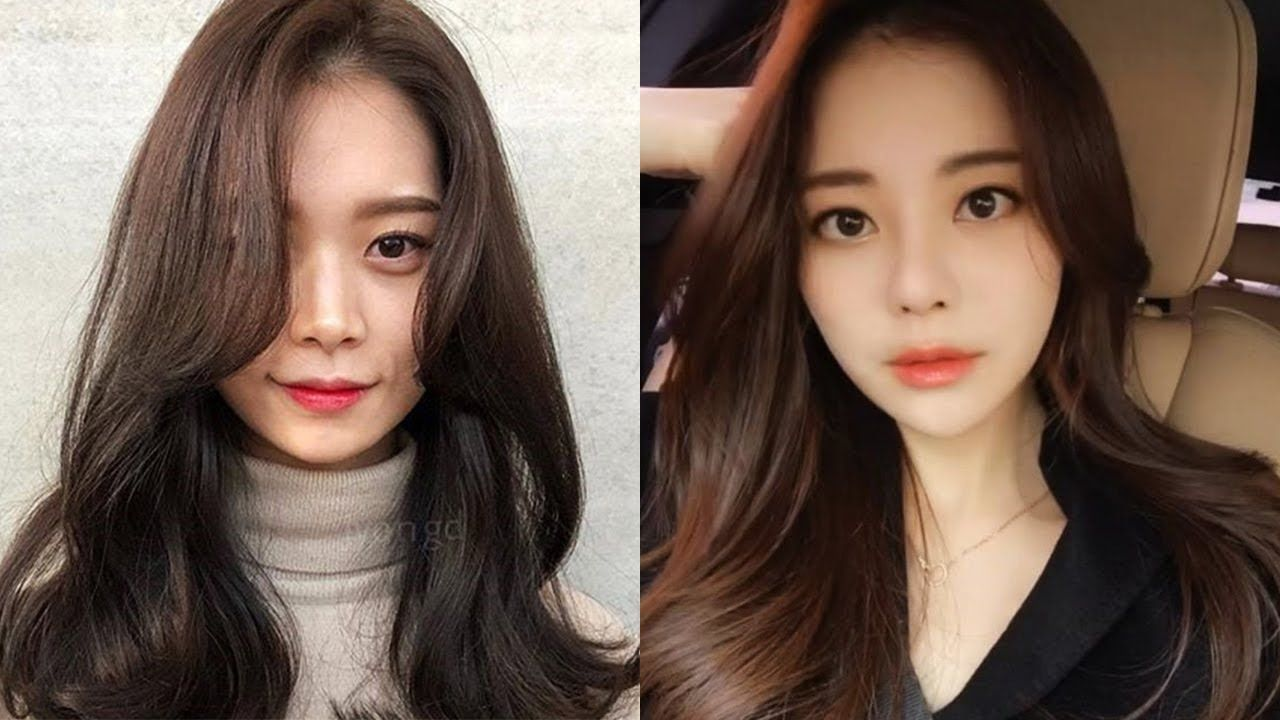 11+ Korean Haircut 11 Female in 11  Korean hair color