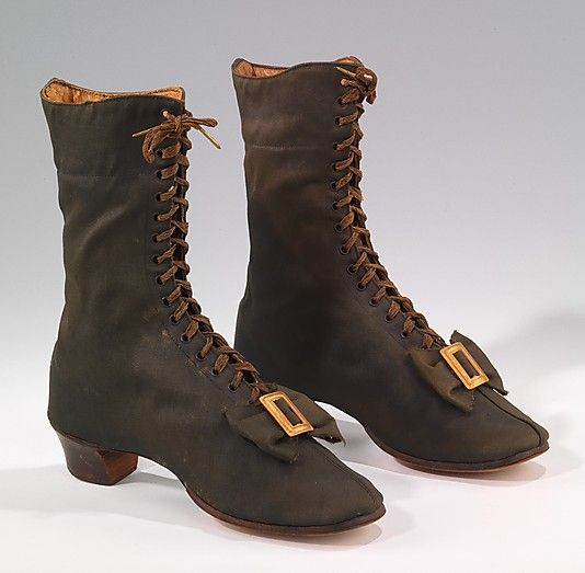 Wool Boots, c. 1860-69