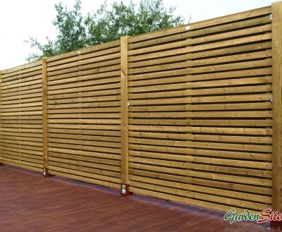 Grange Contemporary 6ft X Fence Panel
