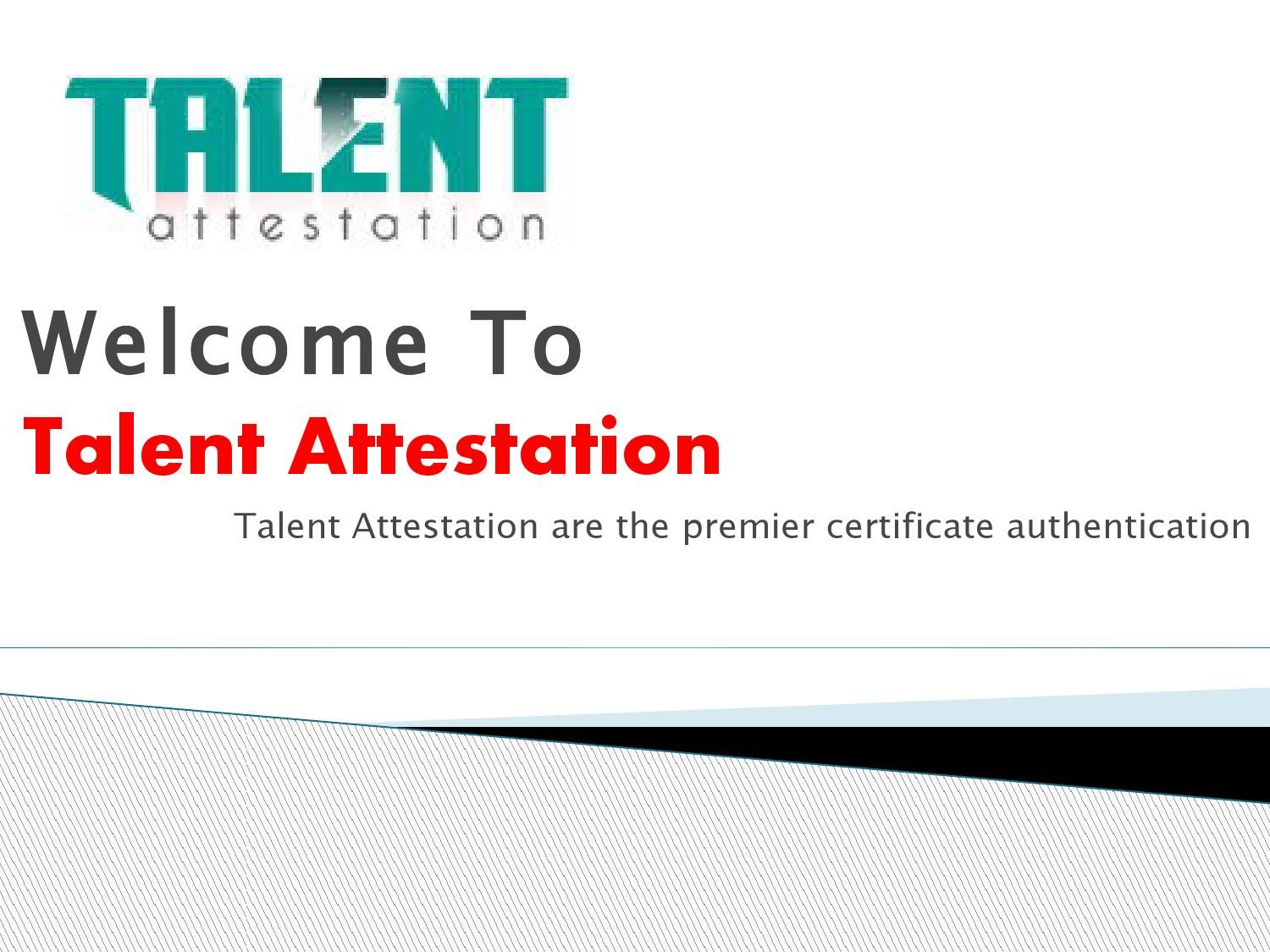 Get your certificate attested in india You got this