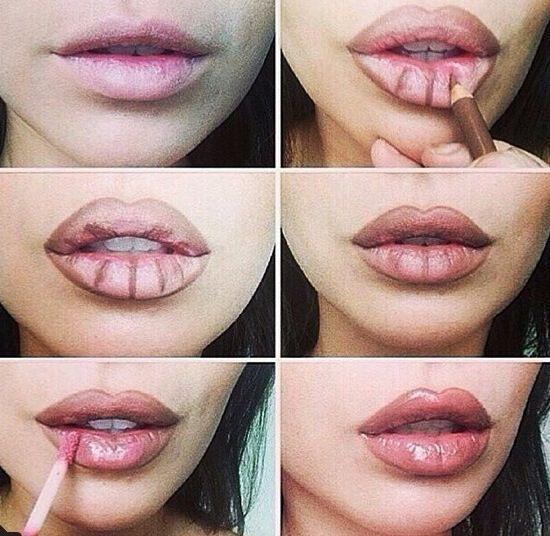 Lipstick Hacks Tips Tricks Tutorials Kylie Jenner Lips How To Makeup Contour Makeup Makeup Tips