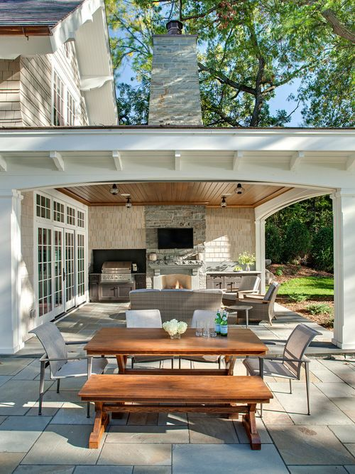 Backyard Patio Designs Patio Design Ideas Remodels Amp Photos Houzz Interior Home Design Ideas Outdoor Patio Designs Patio Design Patio Fireplace