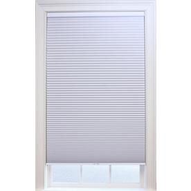 Allen Roth White Blackout Cordless Polyester Cellular Shade Common 52 0 In Actual 52 0 I Cellular Shades Blackout Cellular Shades