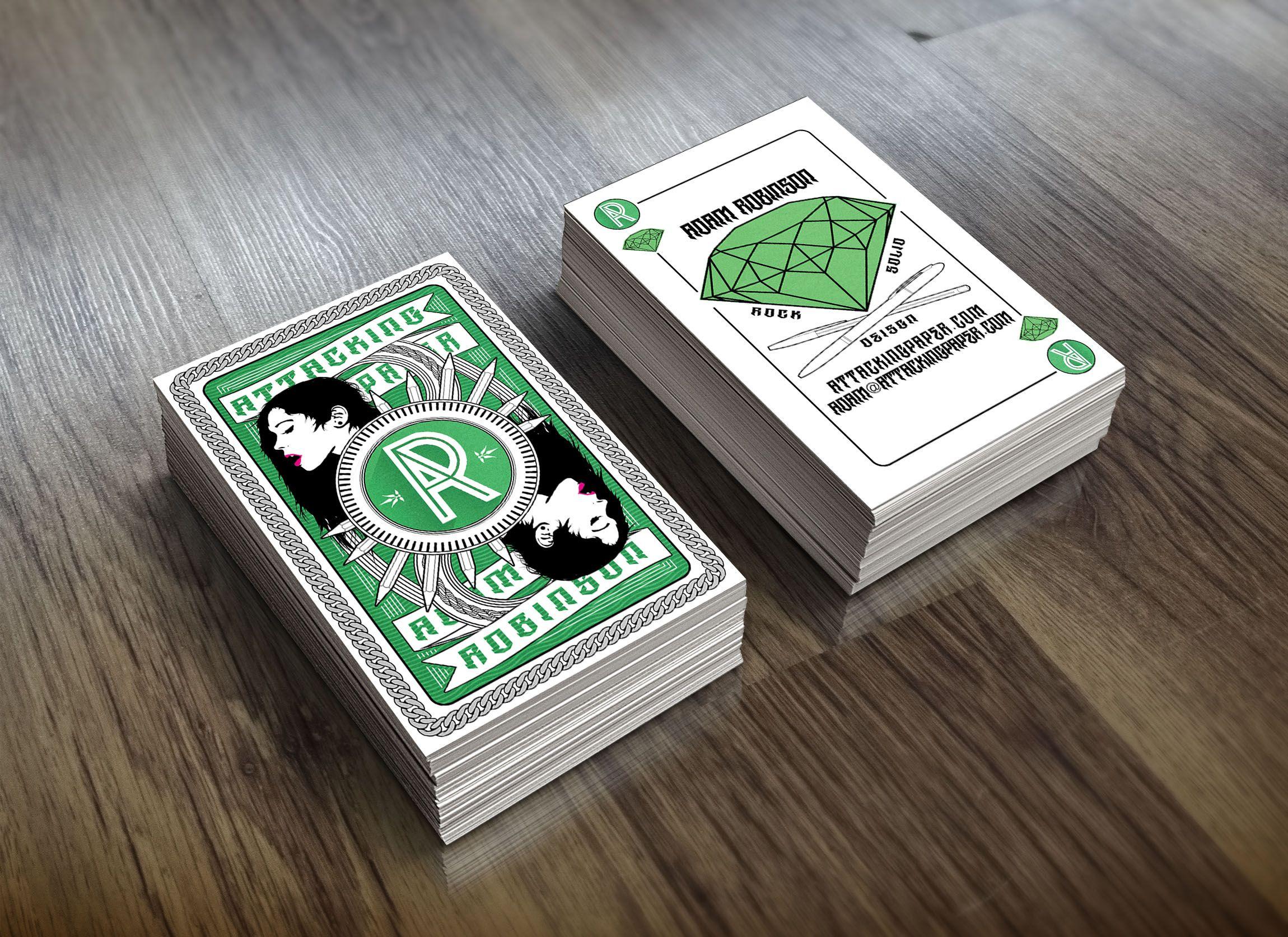 Unique Business Card, Attacking Paper via @lisamchugo #Business ...