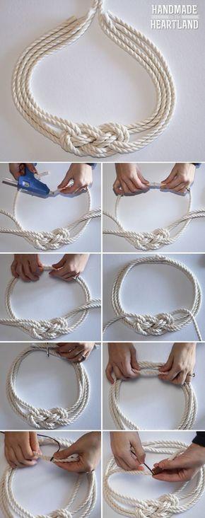 Браслеты из веревок своими руками для начинающих фото 939