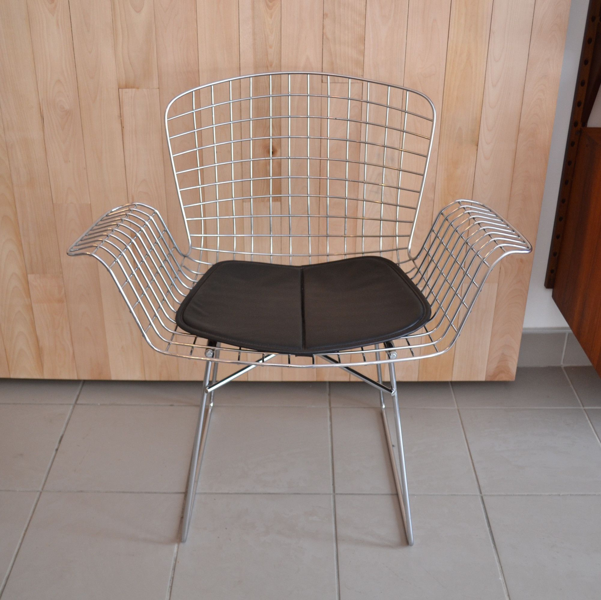 Chaise Bertoia Occasion Mid Century Modern Chaise Style Bertoia Mobilier Midcentury