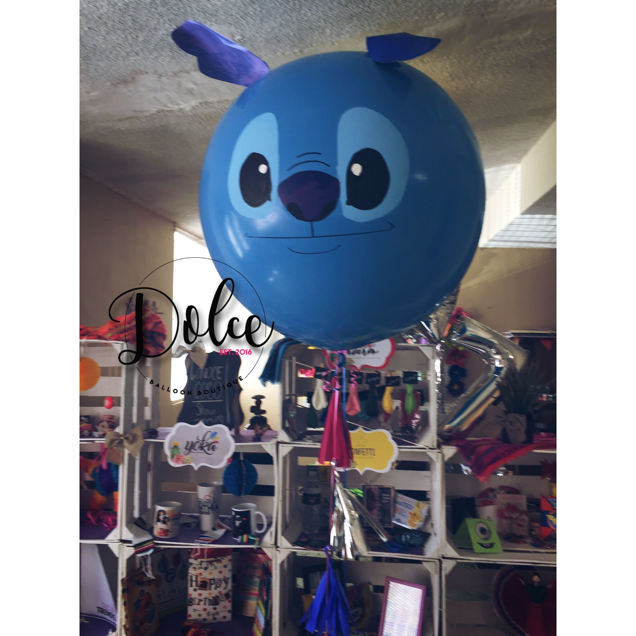 Globo Gigante Con Dise 241 O De Stitch 161 Dilo Con Globos Y