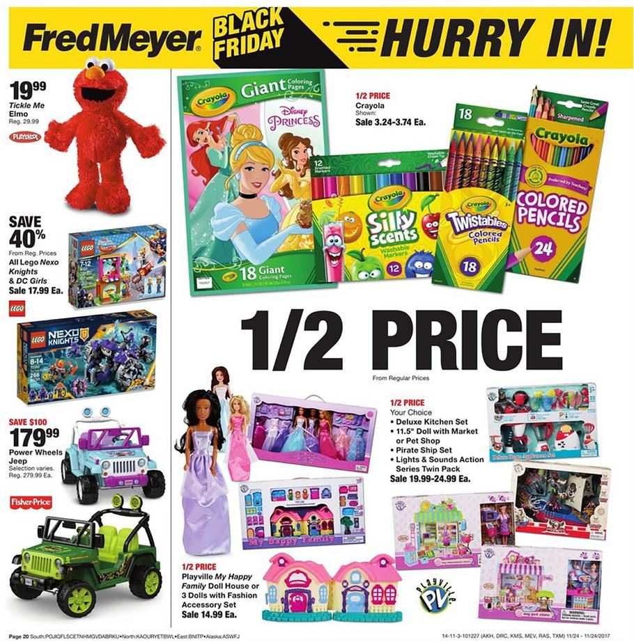 Fred Meyer Black Friday 2017 Ad Scan Deals And Sales #coupons The 2017 Fred  Meyer