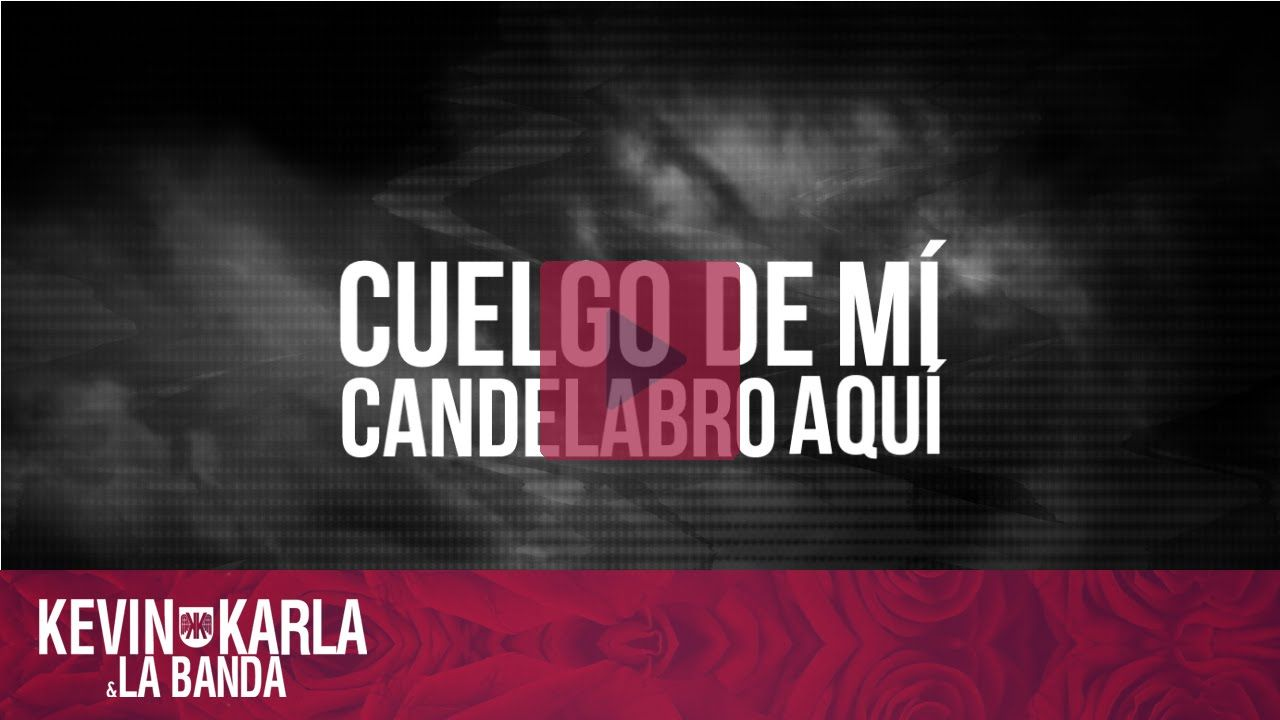 Sia - Chandelier (spanish version by Kevin Vásquez) [Lyric Video ...
