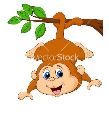 cute swinging monkey monkeys clipart free clip art images rh pinterest com cute girl monkey clipart cute girl monkey clipart
