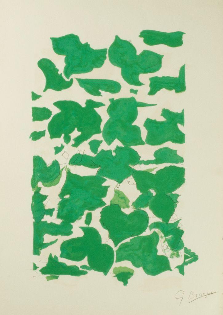 Georges Braque - La Liberte des Mers, Page 146 (1959)