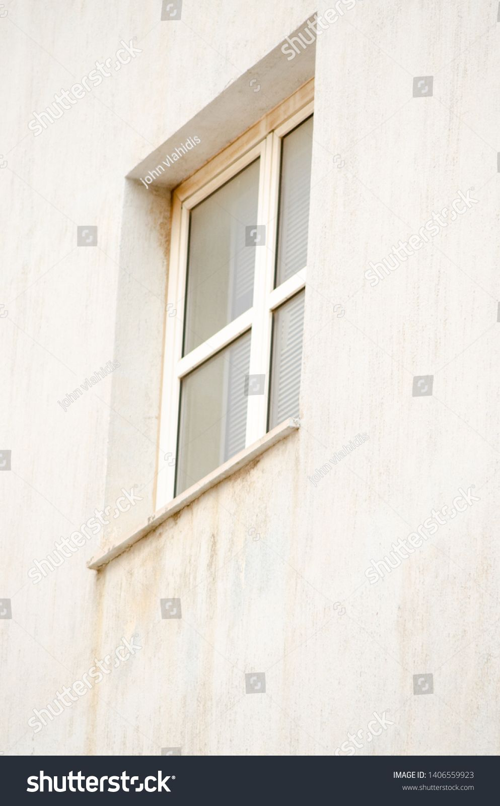 Unhealthy Mold Damaged Walls Outside Window House With Images