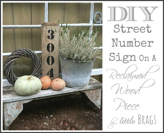 Little Brags: Project Challenge: Reclaimed Wood