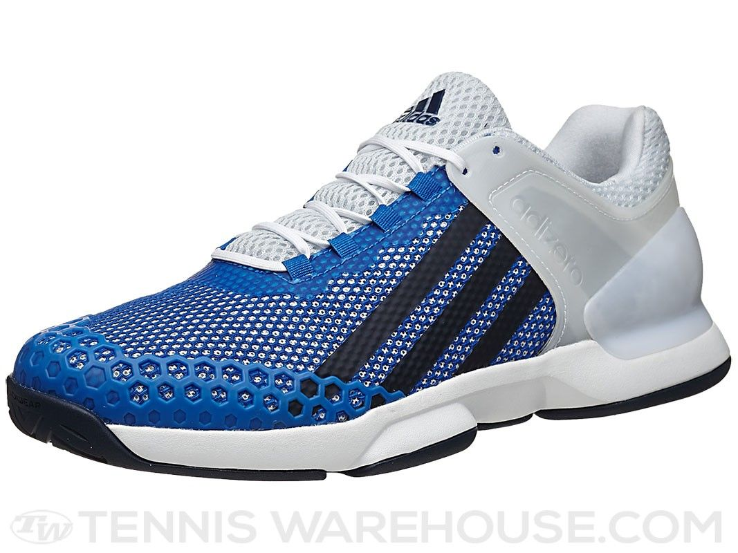 differently 288eb 45883 adidas Adizero Ubersonic WhiteBlue Mens Shoe  Tennis Warehouse