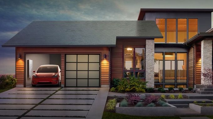 Tesla S Solar Roof Costs Less Than Replacing A Regular Roof Conscious Life News Solar Roof Shingles Tesla Solar Roof Solar Roof