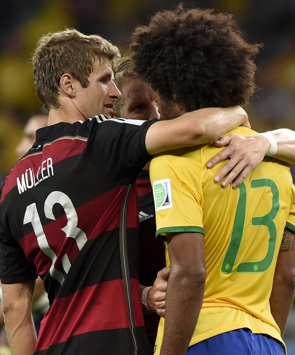 2014 World Cup Germany crushes Brazil in Brazil. I found