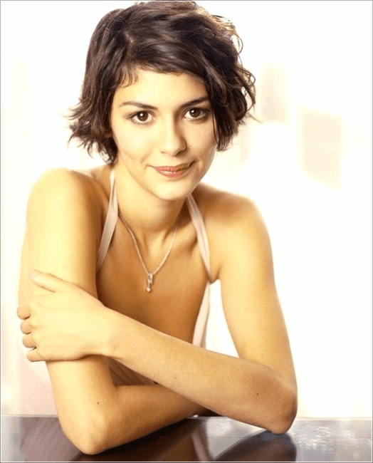 Short Hair Inspiration By Audrey Tautou Haare Audrey