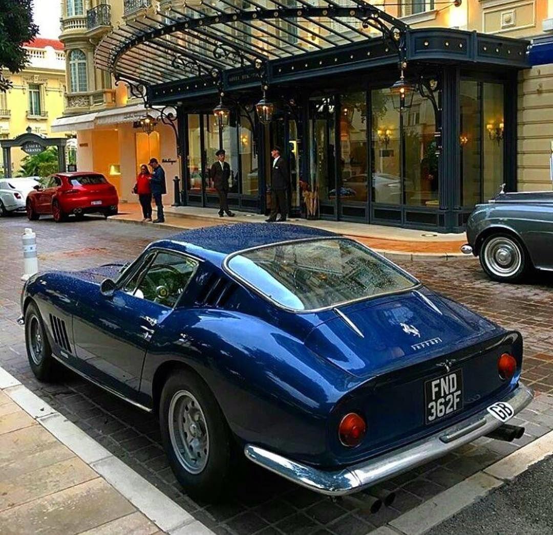 Love The Blue On This Ferrari 275 Ferrari Vintage Classic Cars