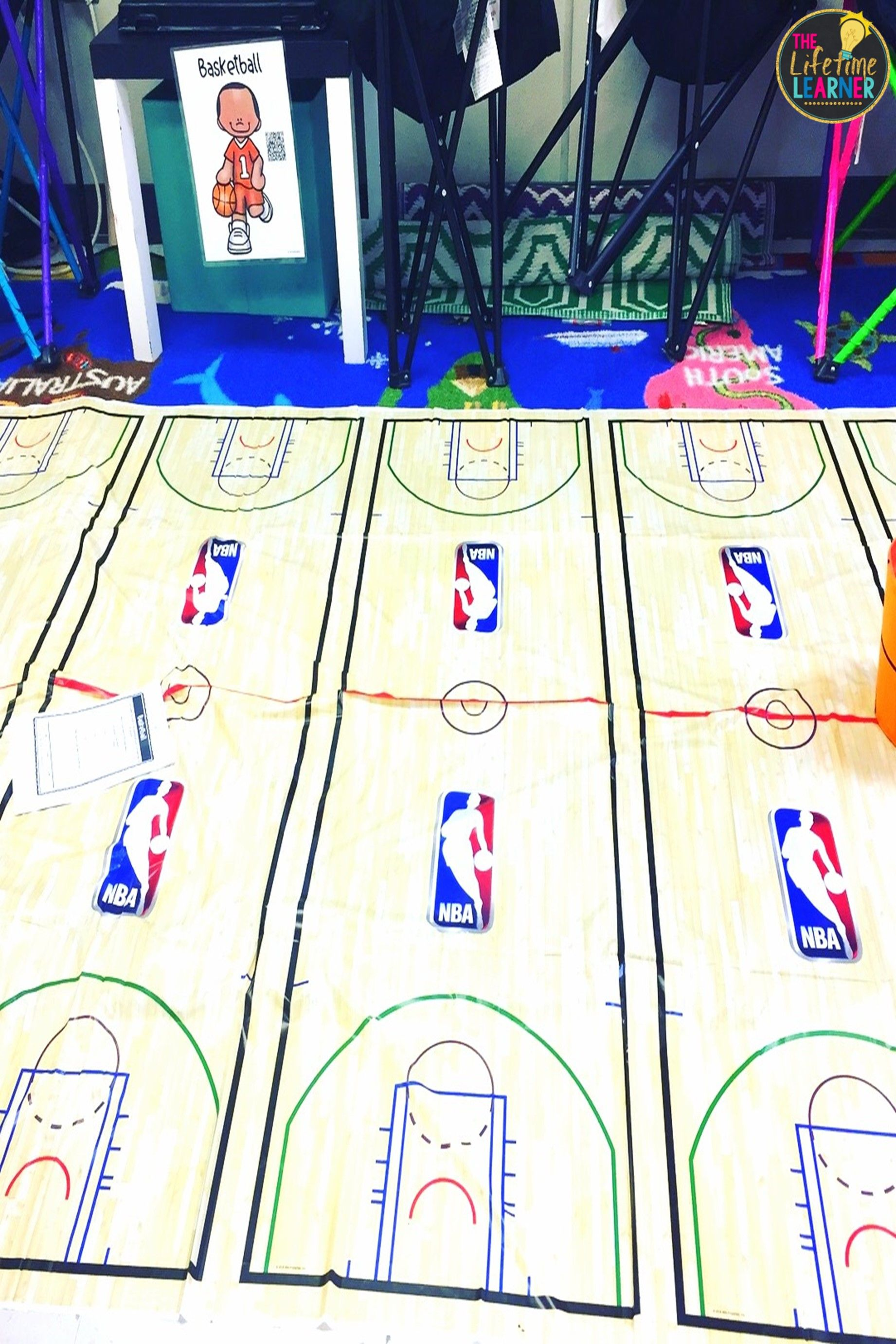 Check Out This Fun Sports Classroom Transformation For 3rd