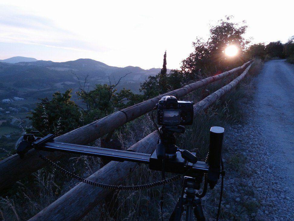 Beautiful landscape for timelapse. Slider: SmartSLIDER PRO. Motion Control: DigiDRIVE.