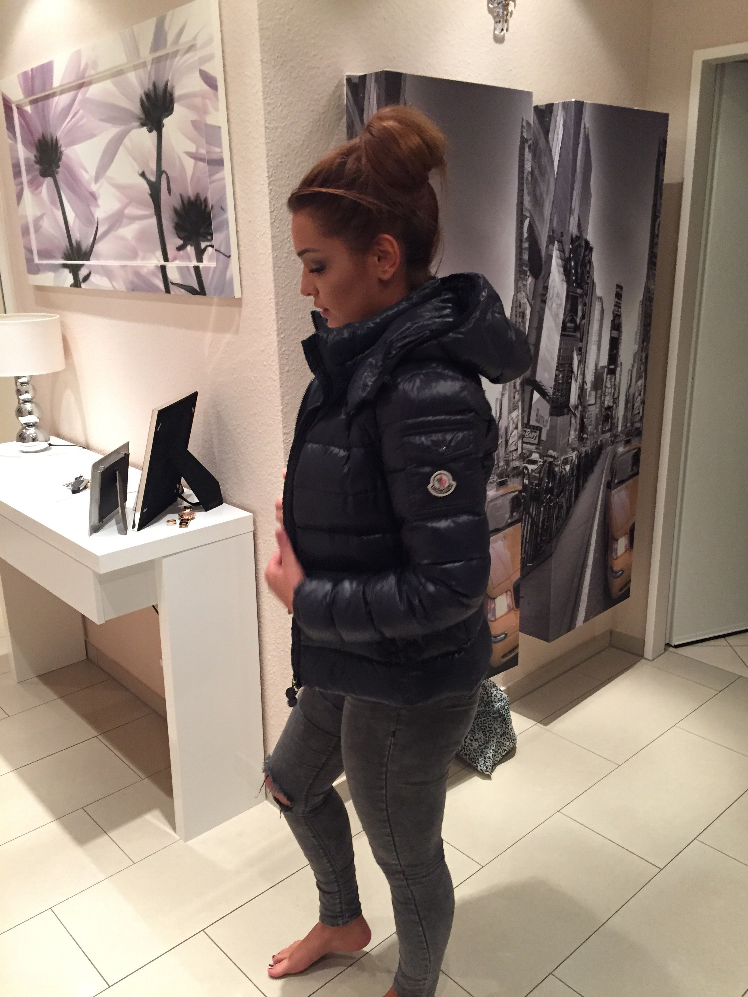 Moncler Bady down jacket | Girls in puff jackets and