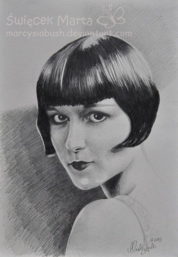 Louise Brooks by Marcysiabush on DeviantArt