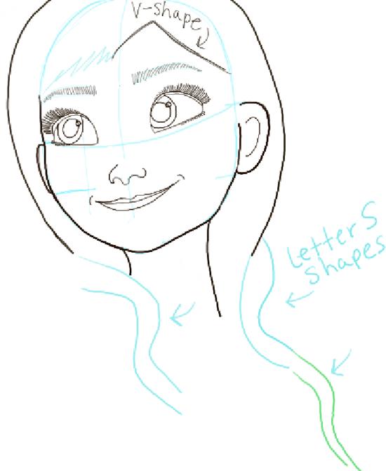 Elsa Drawing Tutorial