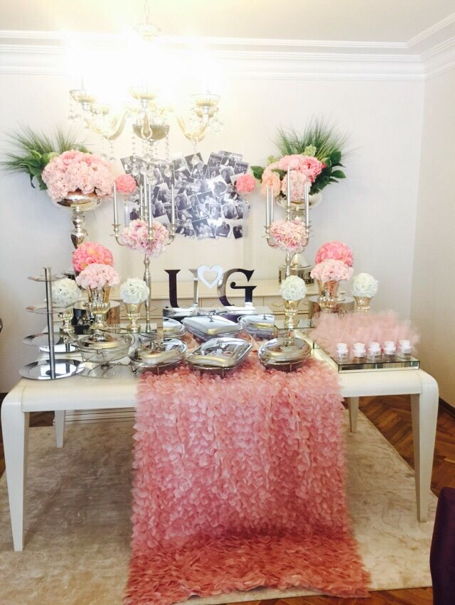 Engaged, candycorner,candy buffet, candy corner