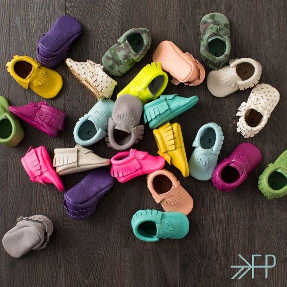 FP Moc colors   Newborn shoes, Baby