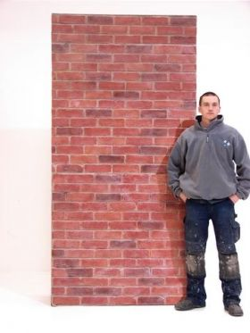 Event Prop Hire: Brick Wall Section