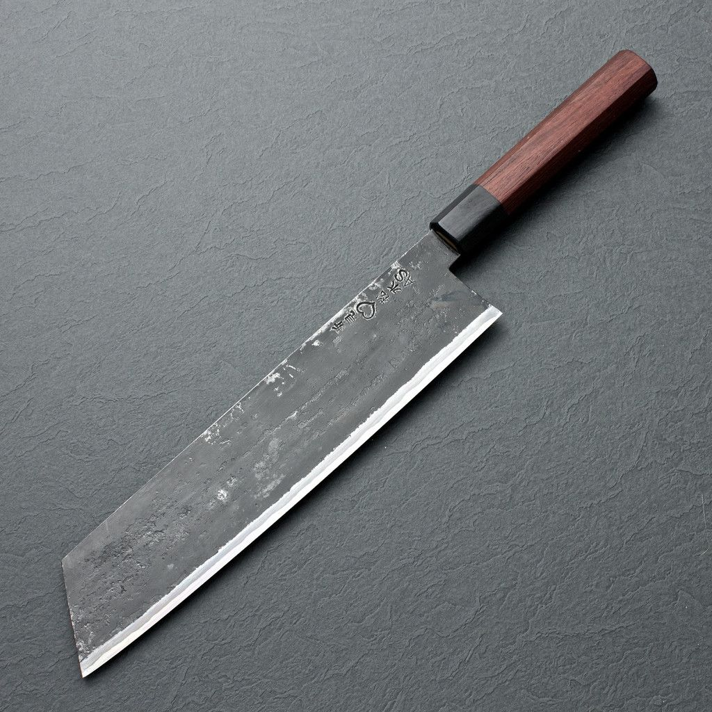 Uncategorized Best Kitchen Knives In The World the best japanese chefs knife knives tools takeda aogami super kiritsuke 240mm 9 4 chubo knives