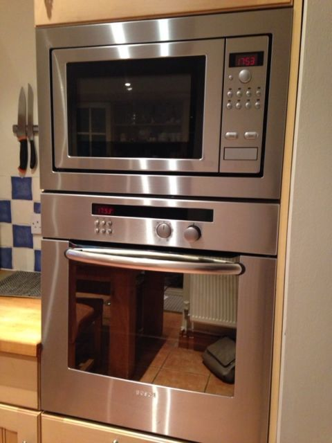 Bosch Integrated Oven And Microwave On Gumtree Stainless