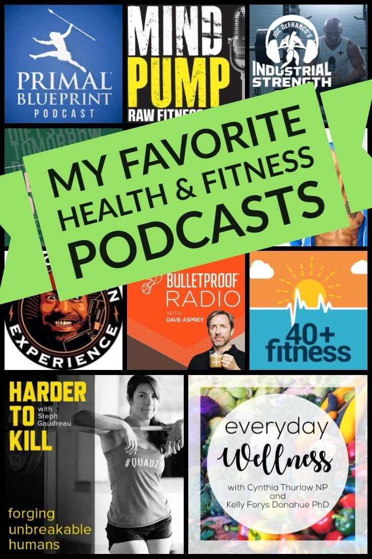 My Favorite Health & Fitness Podcasts is part of Health and fitness tips, Health fitness, Podcasts, Fitness jobs, Fitness tips, Health - I listen to A LOT of podcasts  No really, I currently subscribe to 63 podcasts and I'll probably add more before the end of the week  There are so many great health can fitness podcasts out there  To be able to access them all, I installed Pocket Casts (I love it and highly recommend it) on December 20th, 2018  Since then, I have listened to 138 hours of podcasts and that doesn't count the 68 hours that I have saved by speeding up and skipping