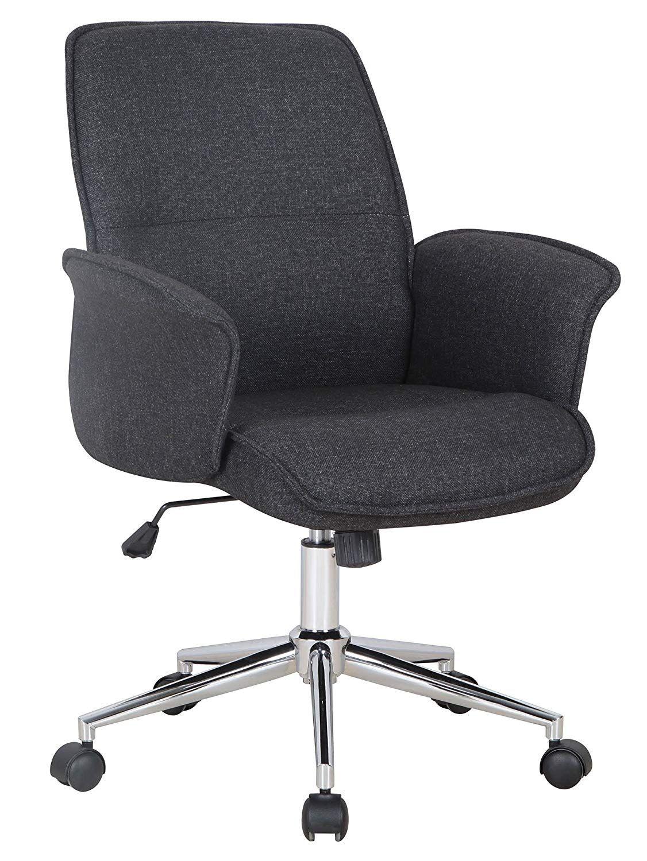 Sixbros Chaise De Bureau Noir Gris En 2020 Chaise De Bureau Confortable Chaise Bureau Fauteuil Confortable