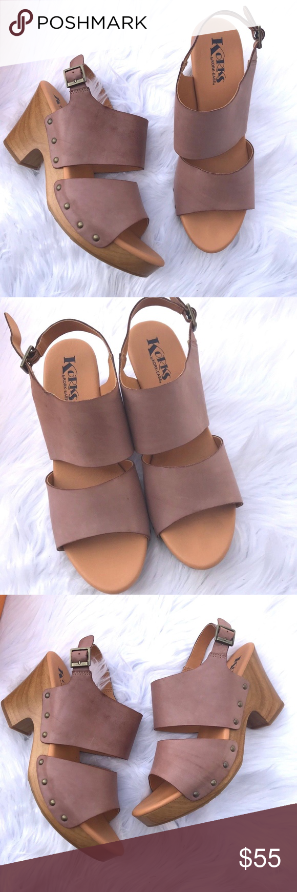 9bd2eb03974d Korks by Kork Ease Annaleigh Platform Clog Sandals Size- 11 Condition- New  in box