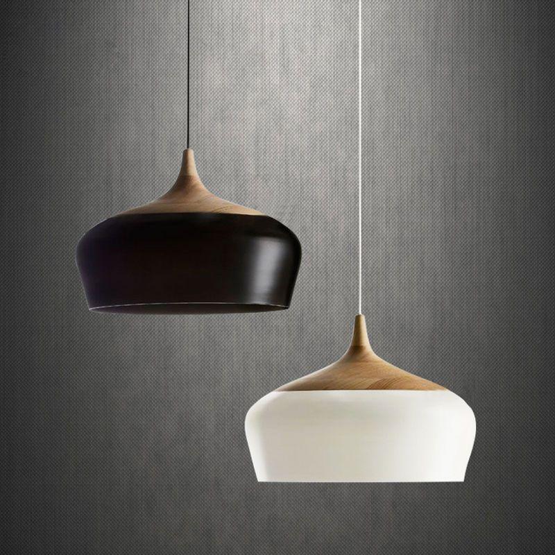 Modern designer metal pendant light fixtures chandelier indoor modern wood metal pendant light fixtures chandelier indoor ceiling lamp home garden lamps aloadofball Choice Image